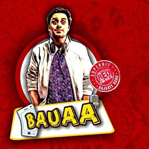 Rj Raunac and Bauaa maje on Aadhaar card from Red FM Bauaa on