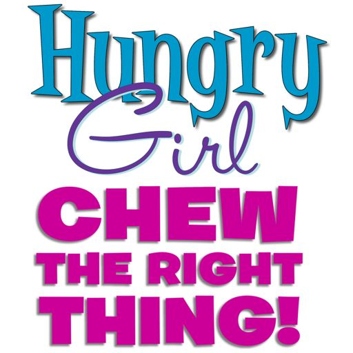 Cover art for podcast Hungry Girl: Chew the Right Thing!
