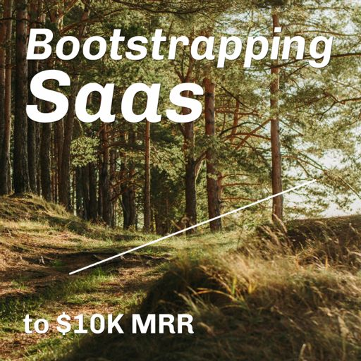 Cover art for podcast Bootstrapping Saas