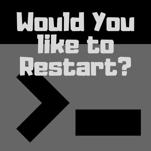 Cover art for podcast Would You Like to Restart?
