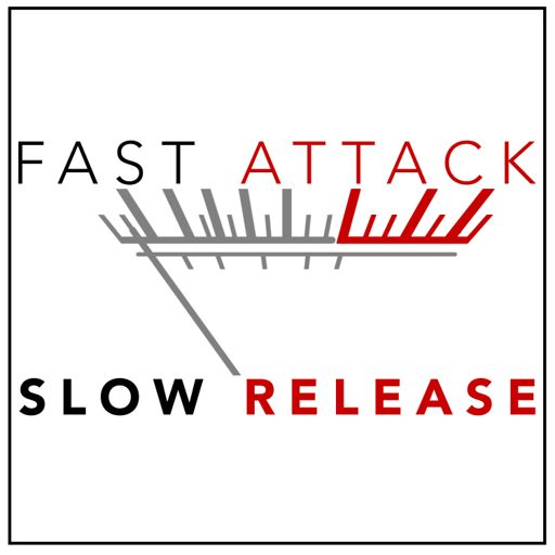 Cover art for podcast Fast Attack, Slow Release
