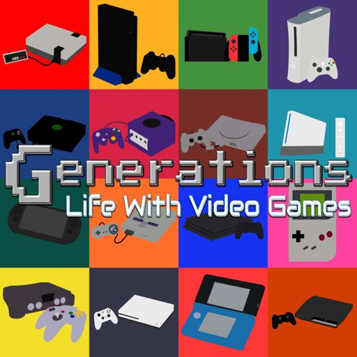 Cover art for podcast Generations - Life with Video Games