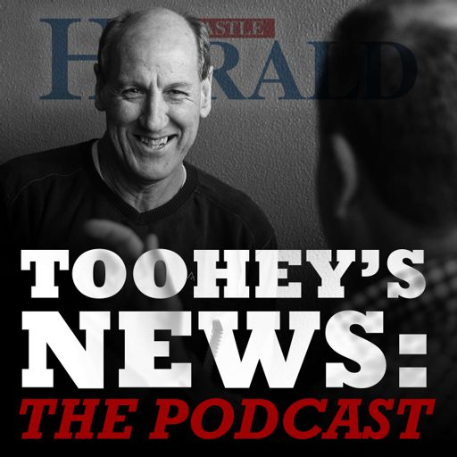 Cover art for podcast Toohey's News: The Podcast