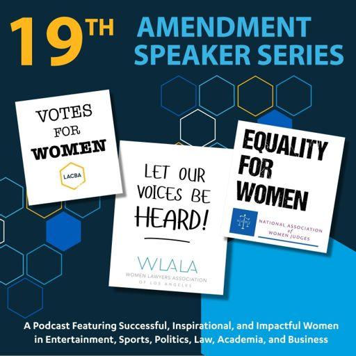 Cover art for podcast 19th Amendment Speaker Series