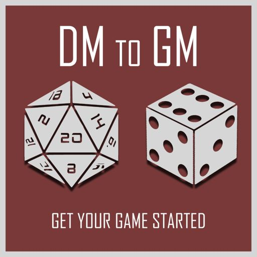 Cover art for podcast DM to GM