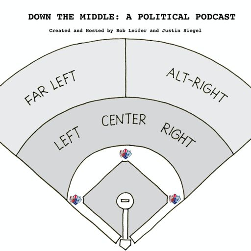 Cover art for podcast Down the Middle: A Political Podcast