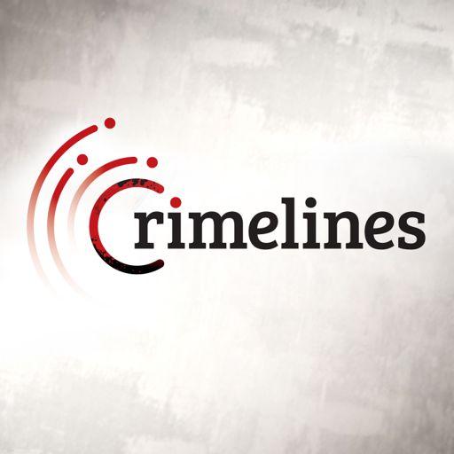 Cover art for podcast Crimelines True Crime