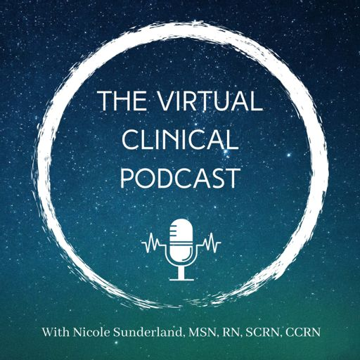 Cover art for podcast The Virtual Clinical Podcast