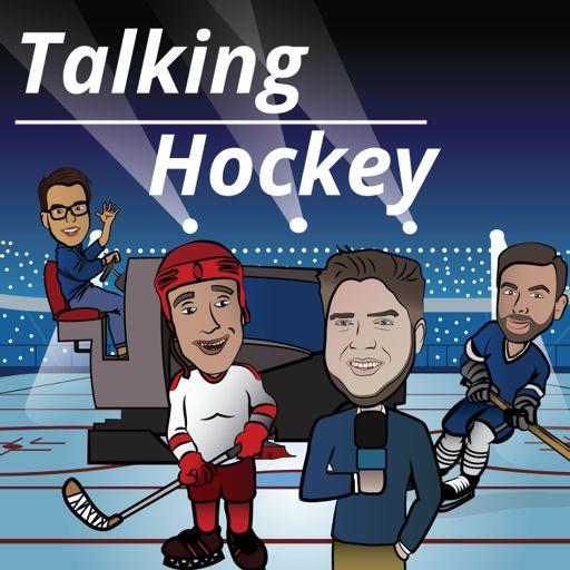 Cover art for podcast Talking Hockey