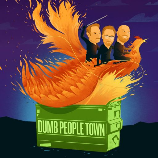 Cover art for podcast Dumb People Town