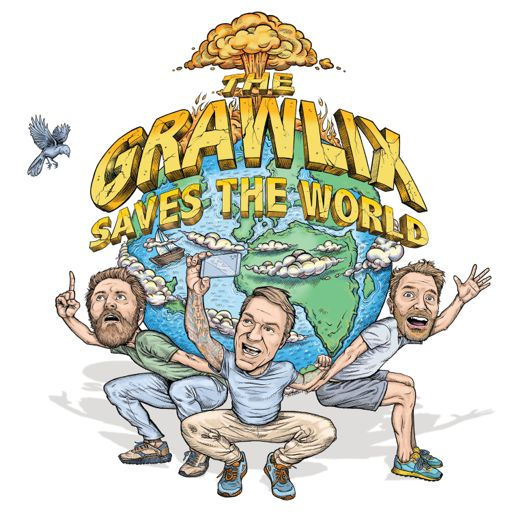 Cover art for podcast The Grawlix Saves The World
