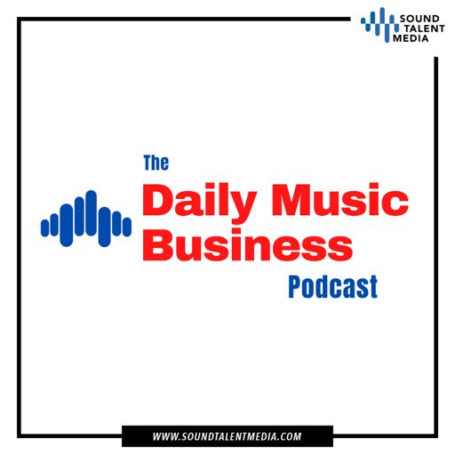 Cover art for podcast The Daily Music Business Podcast