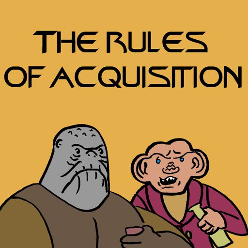 For The Cause (DS9 S4E22) from The Rules of Acquisition: A