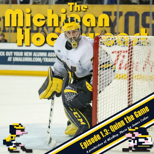 The Michigan Hockeycast Episode 1 3 Quinn The Game From Mgoblog