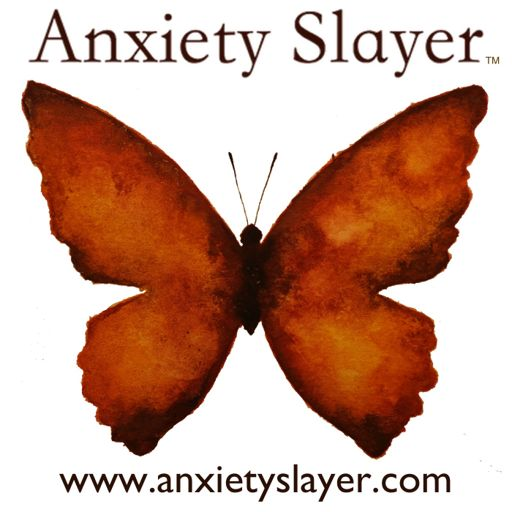 Cover art for podcast Anxiety Slayer™ with Shann and Ananga