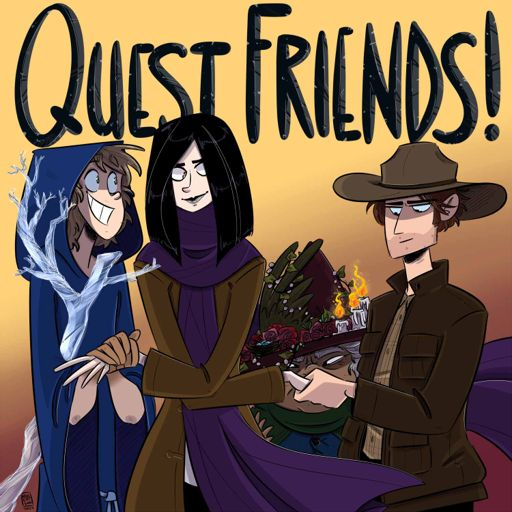 Cover art for podcast Quest Friends!