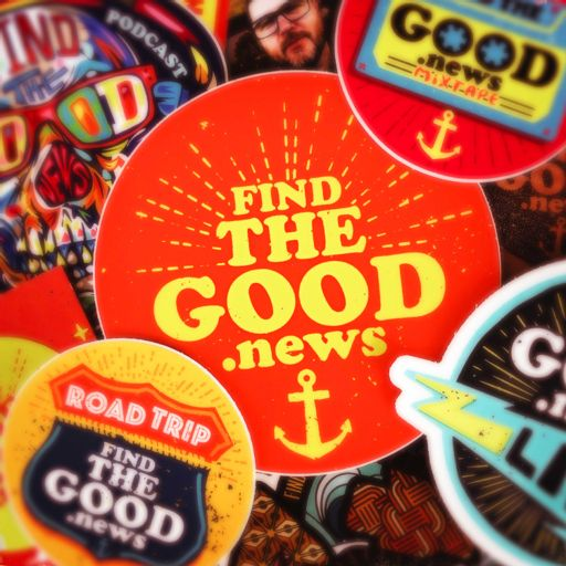 Cover art for podcast Find the Good News with Oran Parker