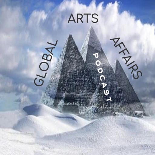 Cover art for podcast Strength To Be Human --Global Arts & Affairs Podcast, Hosted by Mark Antony Rossi