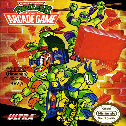 TMNT II: The Arcade Game from 2 Dudes and a NES (Nintendo
