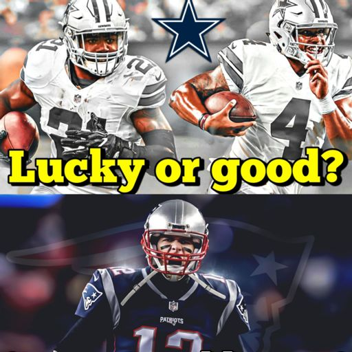 3c384e1dba34 Cowboys win + Patriots shocked  Super Bowl hopes still alive  +  Panthers Chiefs + more from Sports with Nick on RadioPublic