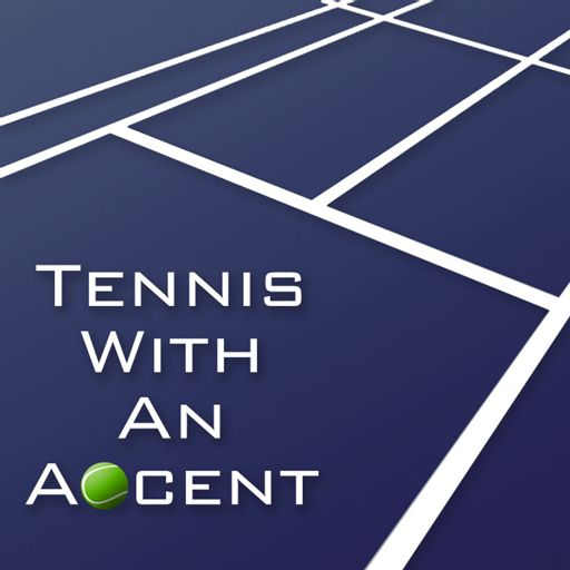 Cover art for podcast Tennis with an Accent