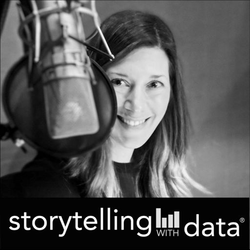 Cover art for podcast storytelling with data podcast