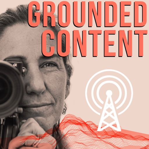Cover art for podcast Grounded Content - Advertising, Marketing & Content Gets Real