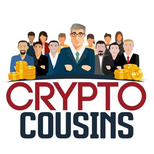 Cover art for podcast Crypto Cousins Bitcoin and Cryptocurrency Podcast