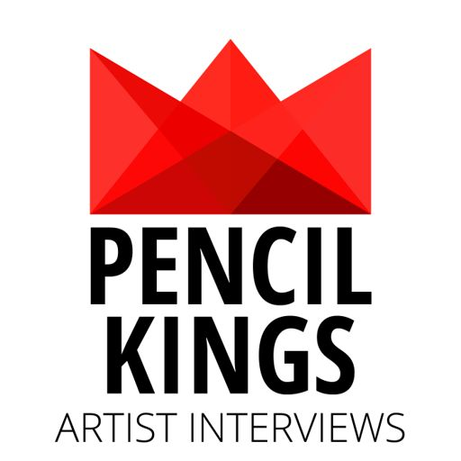 Cover art for podcast Pencil Kings   Inspiring Artist Interviews with Today's Best Artists