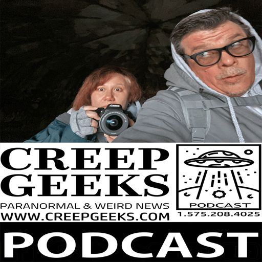 Cover art for podcast CreepGeeks Paranormal and Weird News Podcast