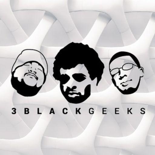 Cover art for podcast 3blackgeeks podcast