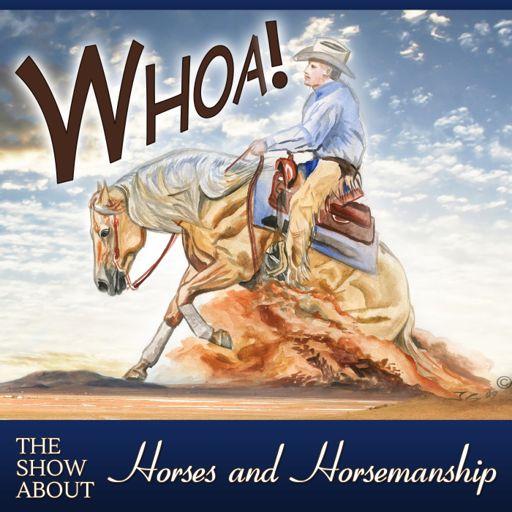 Cover art for podcast Whoa Podcast About Horses Horsemanship