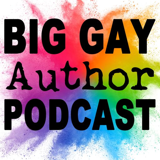 Cover art for podcast Big Gay Author Podcast