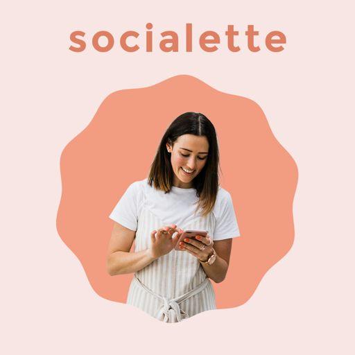 Cover art for podcast Socialette: Bite-Sized Online Marketing Podcast