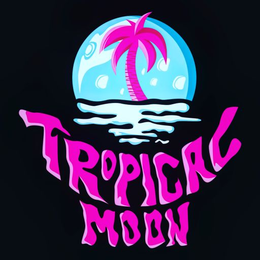 Cover art for podcast Tropical Moon