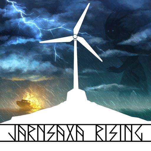Cover art for podcast Jarnsaxa Rising