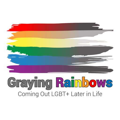 Cover art for podcast Graying Rainbows Coming Out LGBT+ Later in Life