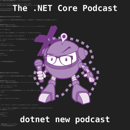Cover art for podcast The .NET Core Podcast