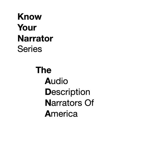 Cover art for podcast The ADNA presents: Know Your Narrator