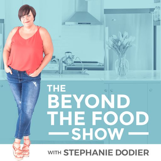 Cover art for podcast Going Beyond the Food: Intuitive Eating, Emotional Eating, Body Neutrality, Diet Mindset and Anti-Diet Podcast