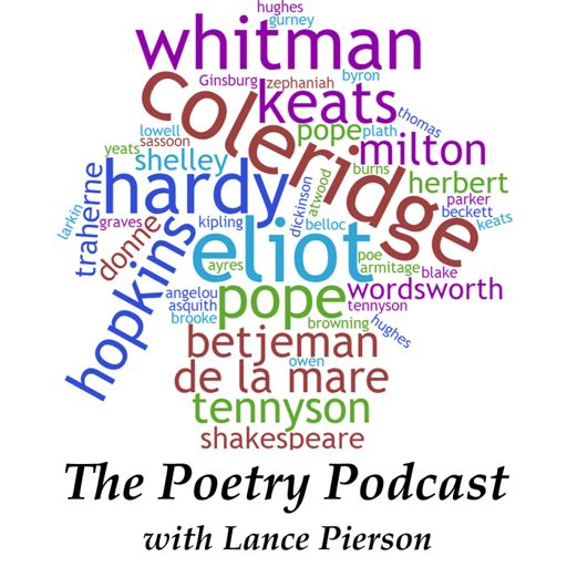 Cover art for podcast The Poetry Podcast with Lance Pierson