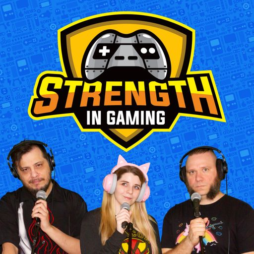 Cover art for podcast Strength in Gaming - Video Game Podcast