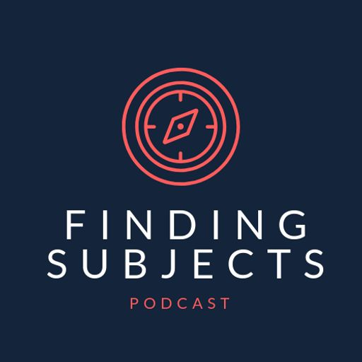 Cover art for podcast Finding Subjects Podcast