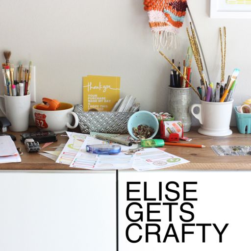 Cover art for podcast ELISE GETS CRAFTY