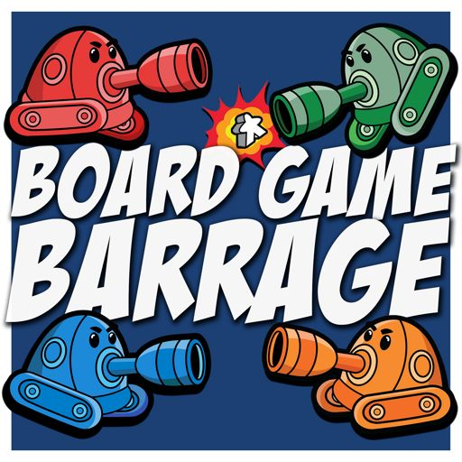 Cover art for podcast Board Game Barrage