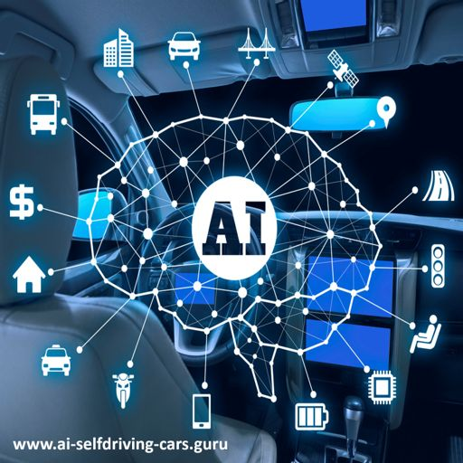 Cover art for podcast Self-Driving Cars: Podcast Series by Dr. Lance Eliot
