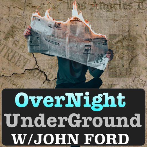 Cover art for podcast Overnight Underground News