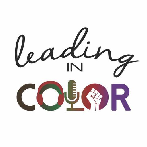 Cover art for podcast Leading in Color with Sarah Morgan