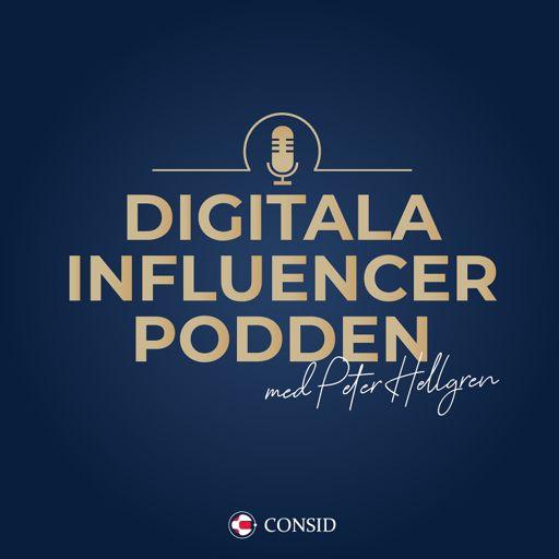 Cover art for podcast Digitala influencer-podden
