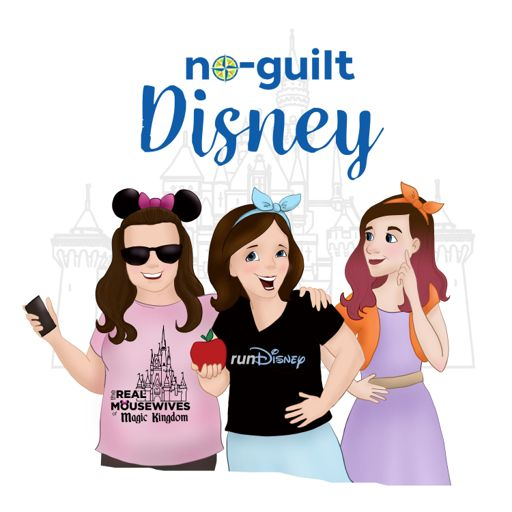 Cover art for podcast No-Guilt Disney Podcast